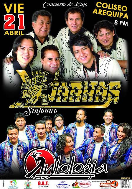 Los Kjarkas y Antología en Arequipa