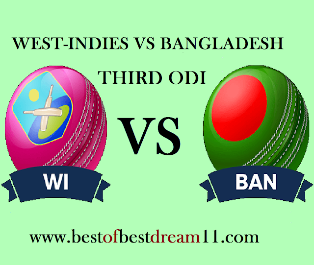wi vs ban dream11