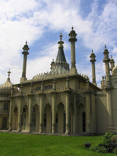 The music room  with its tent-like roof, Brighton Pavilion