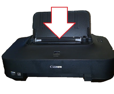 Remove paper jam in printer Canon PIXMA iP2700 | en Rellenado