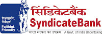 Syndicate Bank, Bank, PO, Probationary Officers, Graduation, freejobalert, Latest Jobs, Hot Jobs,. syndicate bank logo