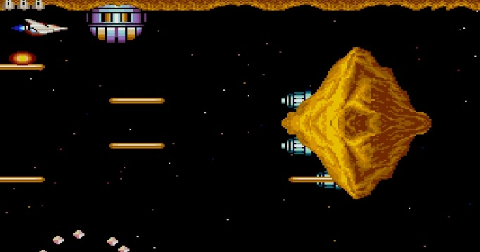 My all time favourite video games: Gradius - Sharp X68000 - 1987