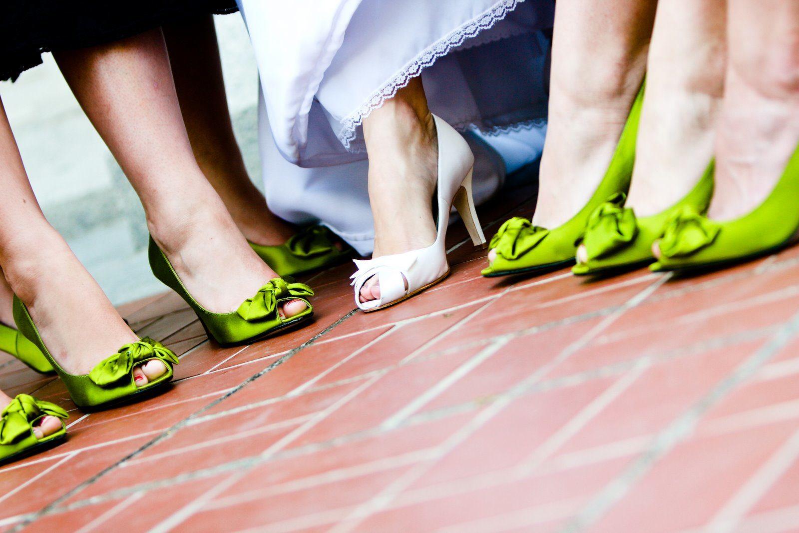 I Heart Wedding Dress: Green Wedding Shoes
