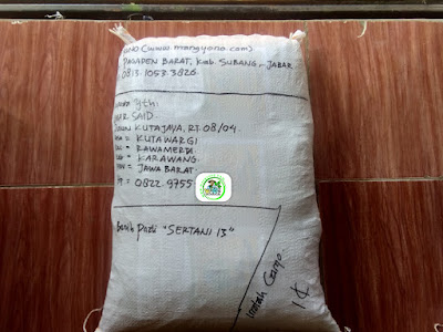 Benih Pesanan   UMAR SAID Karawang, Jabar.  (Setelah Packing)
