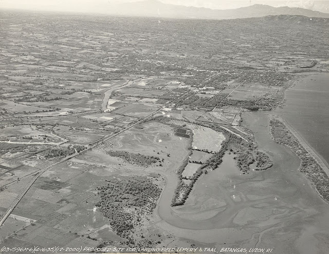 Possible site of Lemery Landing Field, taken 1935.  Image source:  United States National Archives.