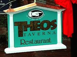 placa dianteira de restaurantes