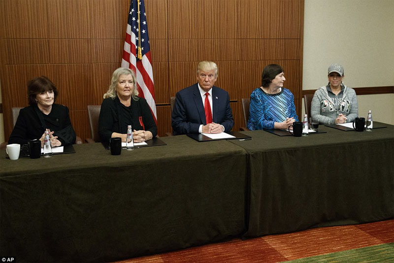 Mr. Clinton raped me - Donald Trump invites 4 accusers of Bill Clinton to press conference