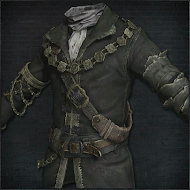 Decorative Old Hunter Garb