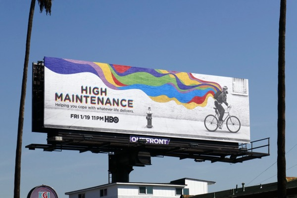 High Maintenance season 2 billboard