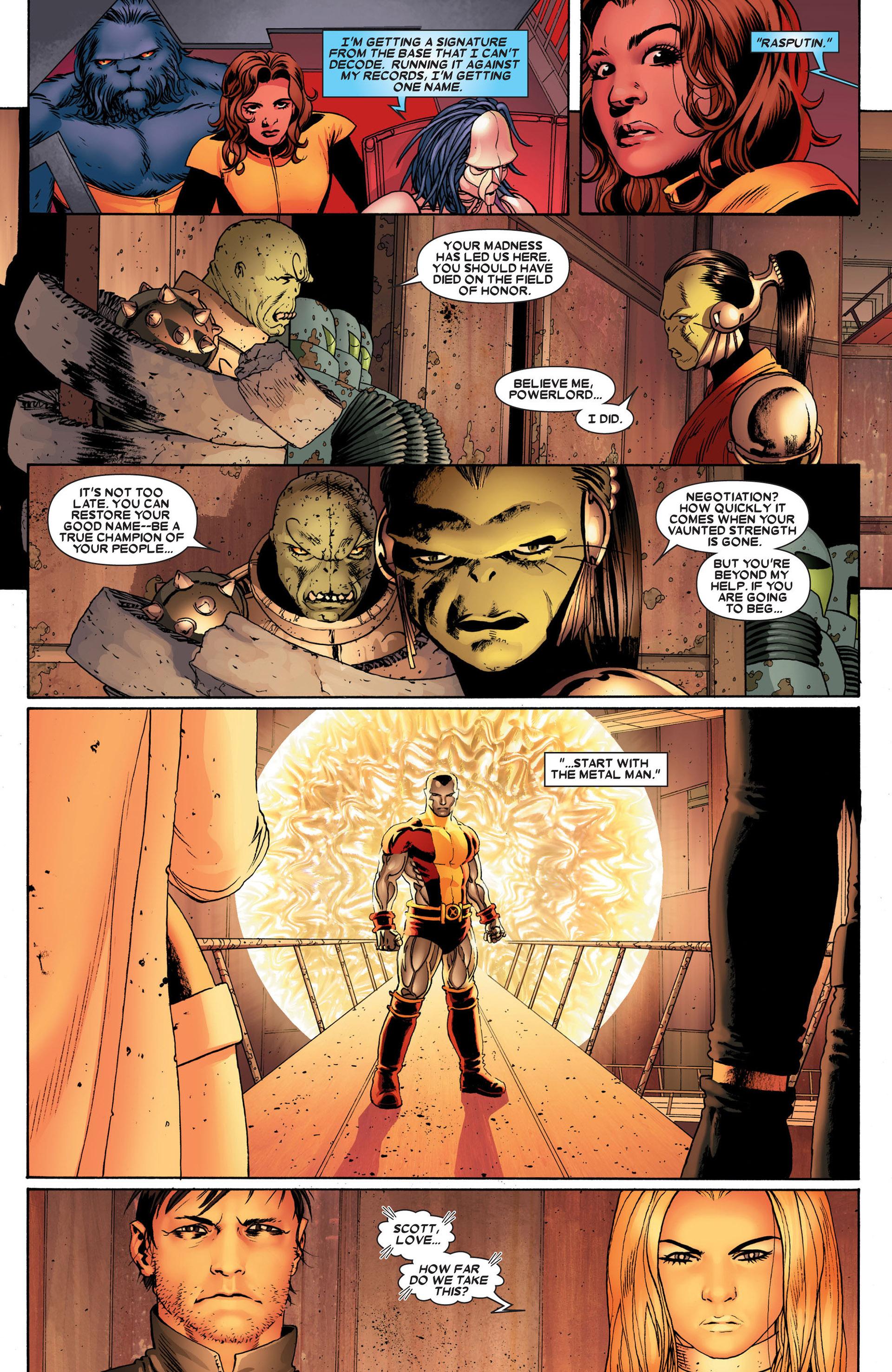 Read online Astonishing X-Men (2004) comic -  Issue #24 - 13