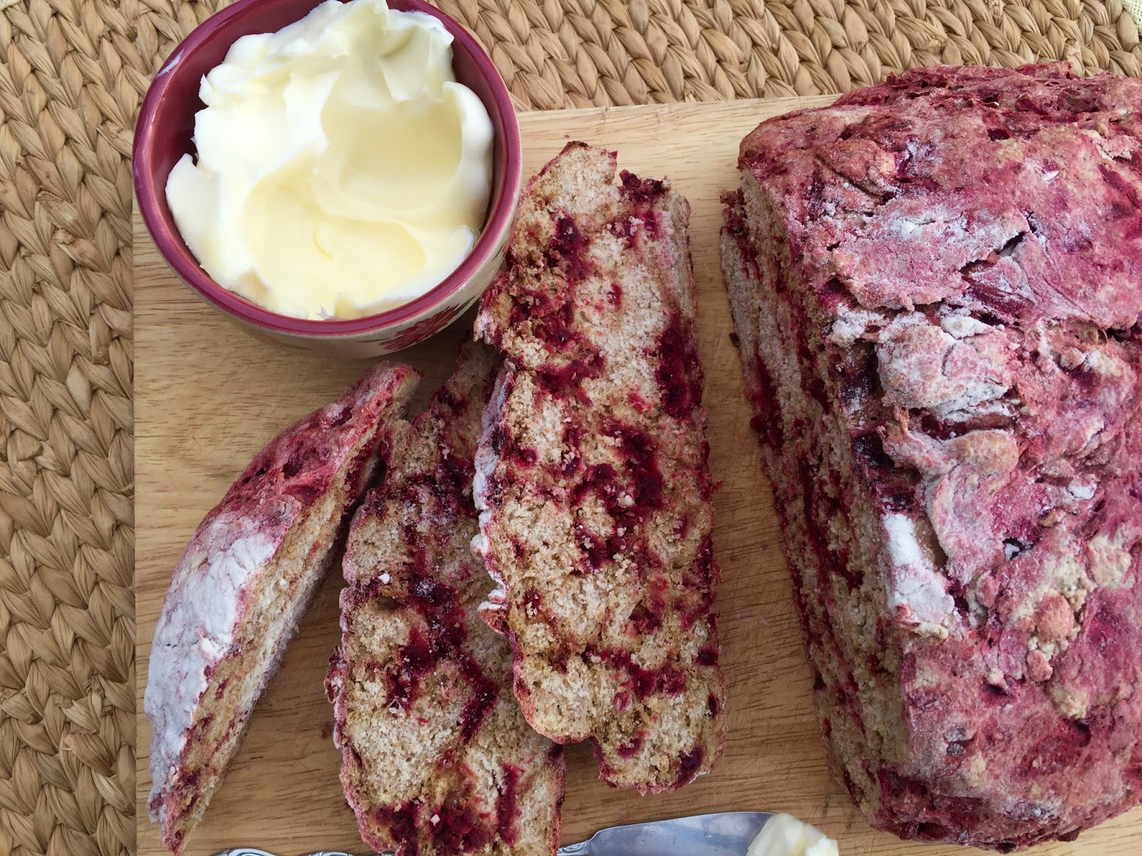 Whole Wheat Red Beet Bread Diary Of A Mad Hausfrau