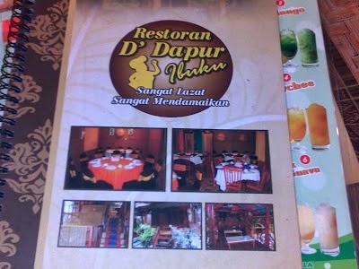 Restaurant D Dapur Ibuku Was Very Tasty Peaceful
