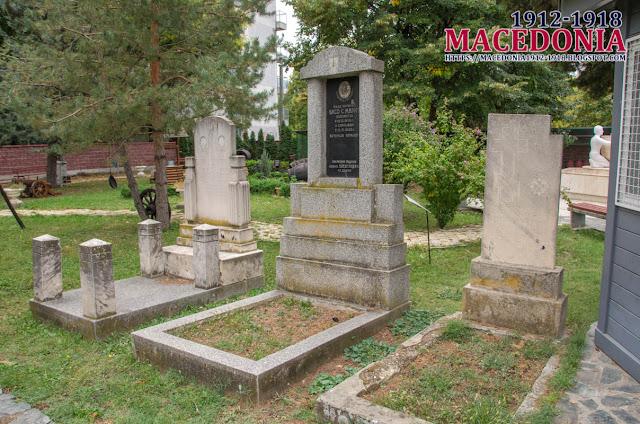 "Graves - Church ""St. Archangel Michael"" - Avtokomanda, Skopje"