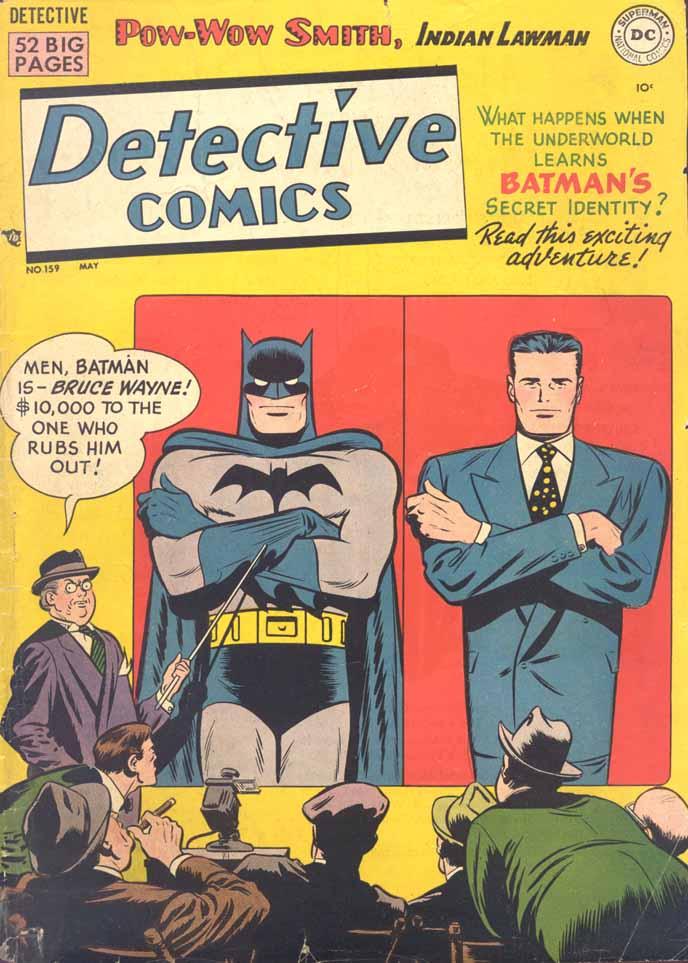 Detective Comics (1937) 159 Page 0