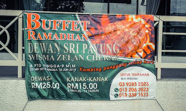 BUFFET RAMADAN 2018 KUALA LUMPUR HARGA BAWAH RM50