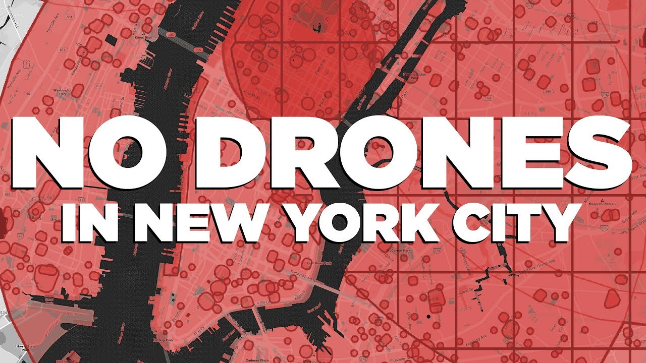 Why it's (mostly) illegal to drone in NYC