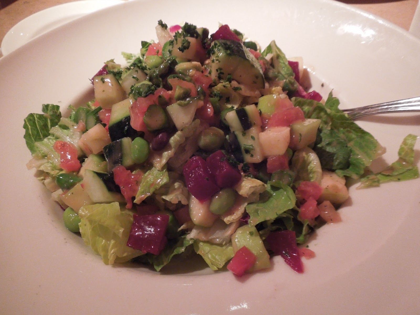 Fresh Vegetable Salad Cheesecake Factory Calories