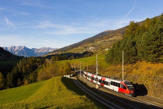 Brennerbahn, South Tyrol