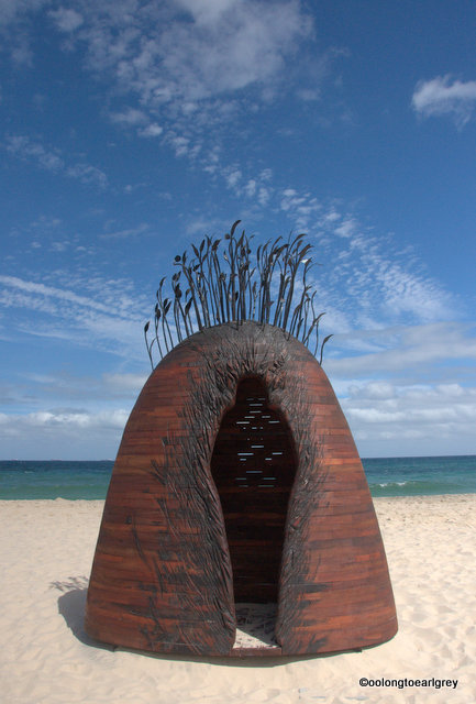 Manscape, by Tony Davis, WA, Sculptures by the Sea, Cottesloe 2016