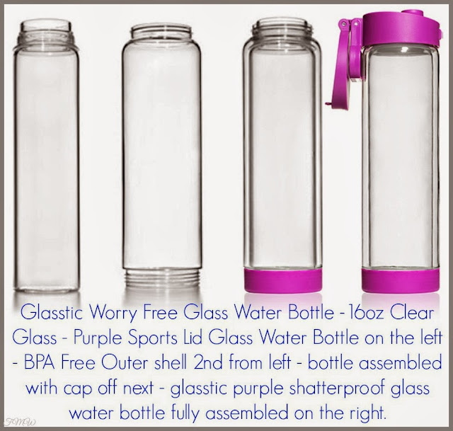 b91f84224b Frugal Mom and Wife: Glasstic Shatterproof Glass Water Bottle Review!