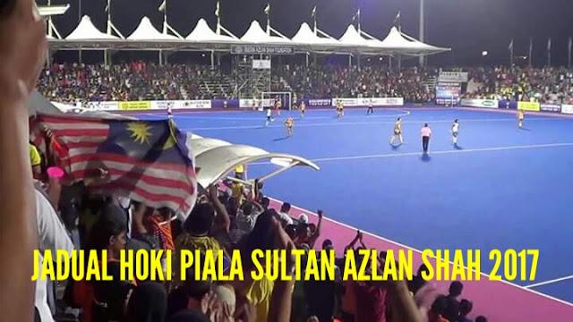 Jadual dan Keputusan Hoki Piala Sultan Azlan Shah 2017