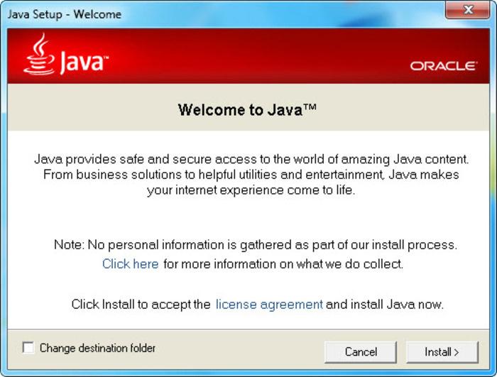 Java Runtime Environment SE (JRE) Offline Installer download for Windows .Mac . linux.