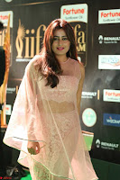 Nidhi Subbaiah Glamorous Pics in Transparent Peachy Gown at IIFA Utsavam Awards 2017  HD Exclusive Pics 52.JPG