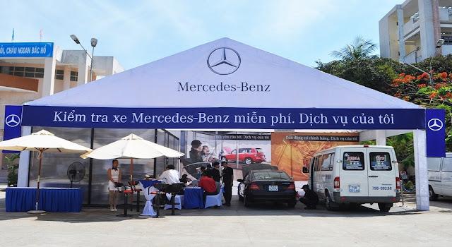 Dịch vụ sửa chữa lưu động xe Mercedes tại Mercedes Trường Chinh