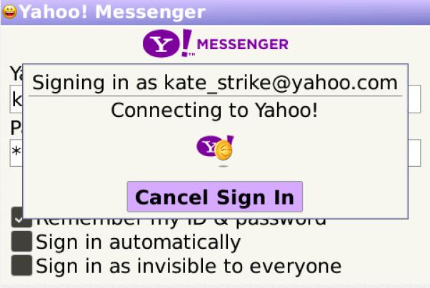 تحميل برنامج ياهو ماسنجر للبلاك بيري yahoo messenger for blackberry