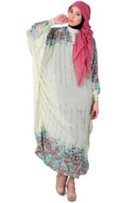 Model Baju Dress Panjang Untuk Lebaran