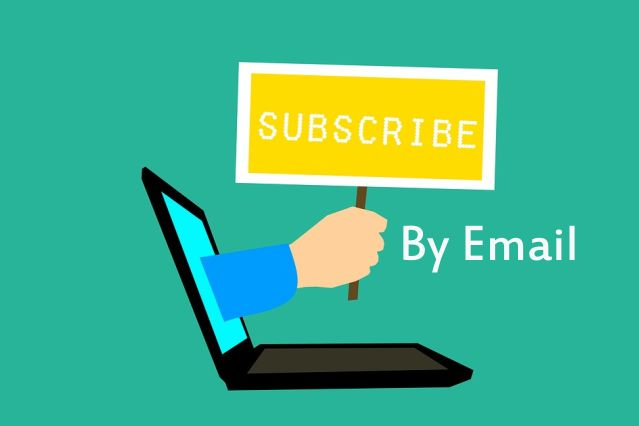 Langganan Menggunakan Email