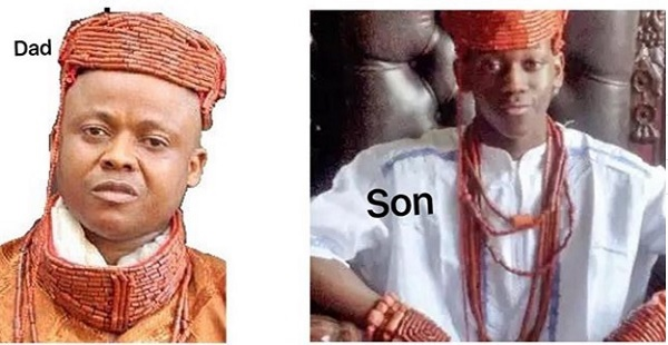 15-year old Son of Late Obi Ofulue Who Died in Kidnappers Den, Installed as King in Delta (Photos)