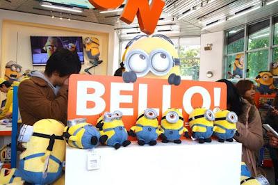 Minion Mart at USJ Osaka Japan