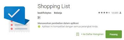 5 Aplikasi Terbaik Mencatat Daftar Belanja di Android