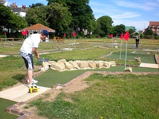 Splash Point Mini Golf course in Worthing