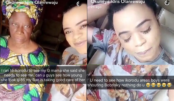 Move over Olamide! Bobrisky says he's the king of the streets now