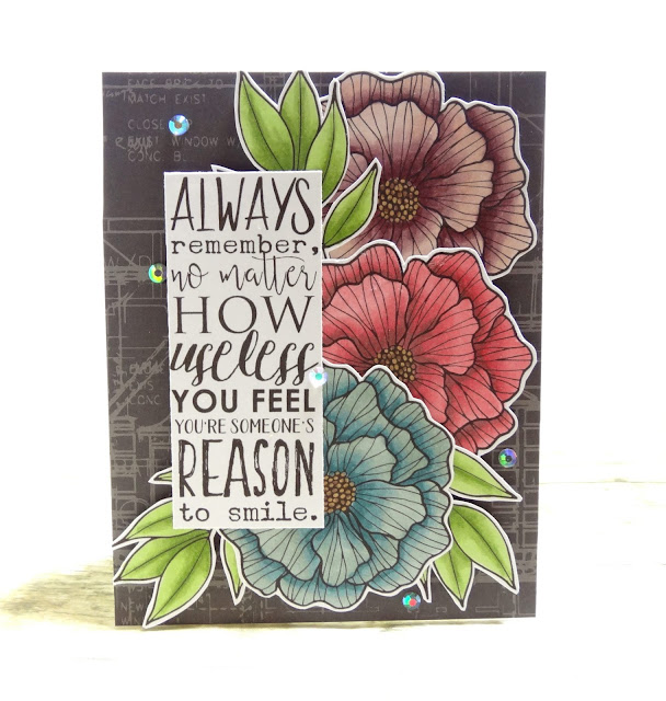 Dana Warren - Kraft Paper Stamps - Graciellie Designs - Spectrum Noir