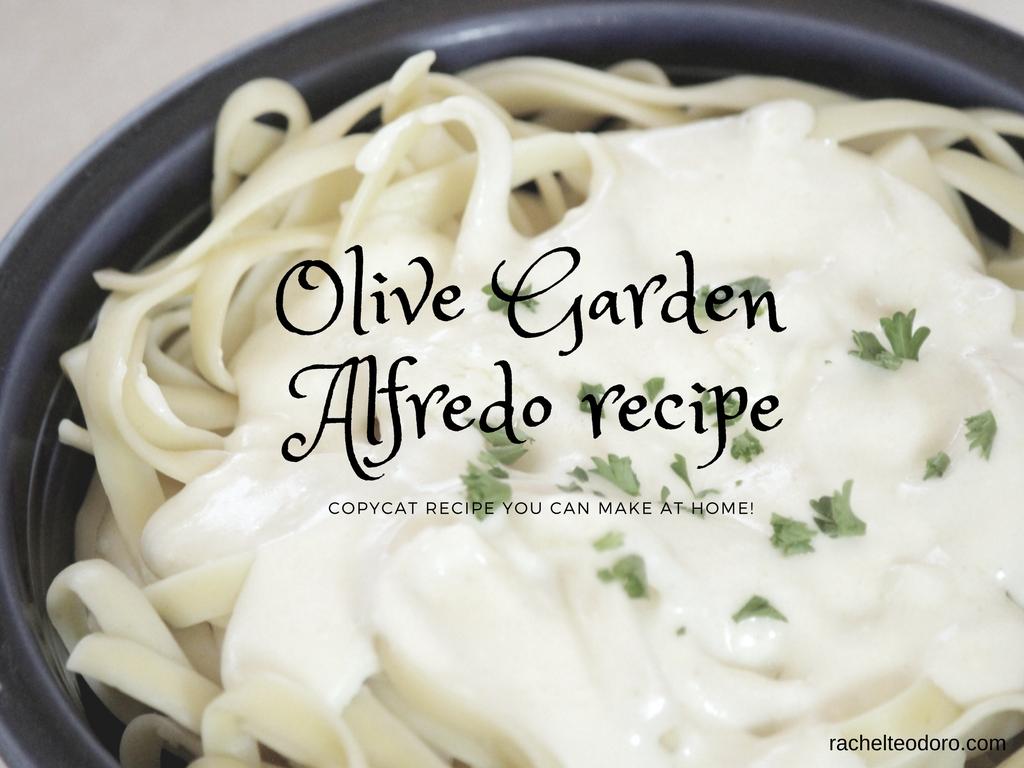 Copycat olive garden alfredo recipe - Olive garden alfredo sauce recipe copycat ...