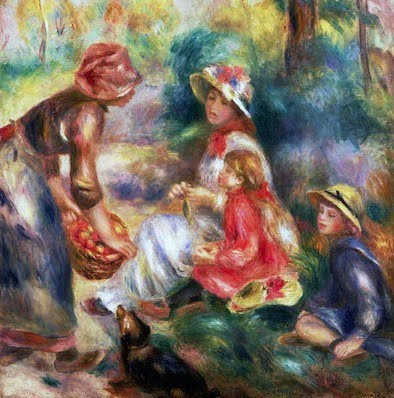 a biography of pierre auguste renoir a french impressionist Pierre auguste renoir was a french impressionist painter noted for his radiant, intimate paintings, particularly of the female nude recognized by critics as.
