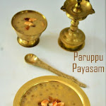 Pasi Paruppu Payasam Recipe | Moong Dal Payasam (Kheer) - with Coconut milk &  Javvarisi | My 50th Post