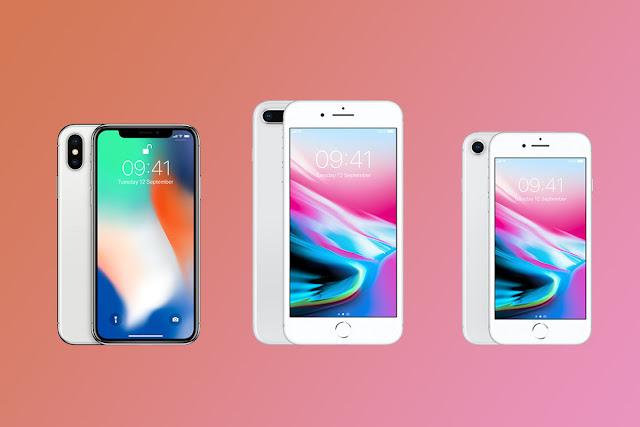 iPhone X, iphone 8, Iphone 8 Plus