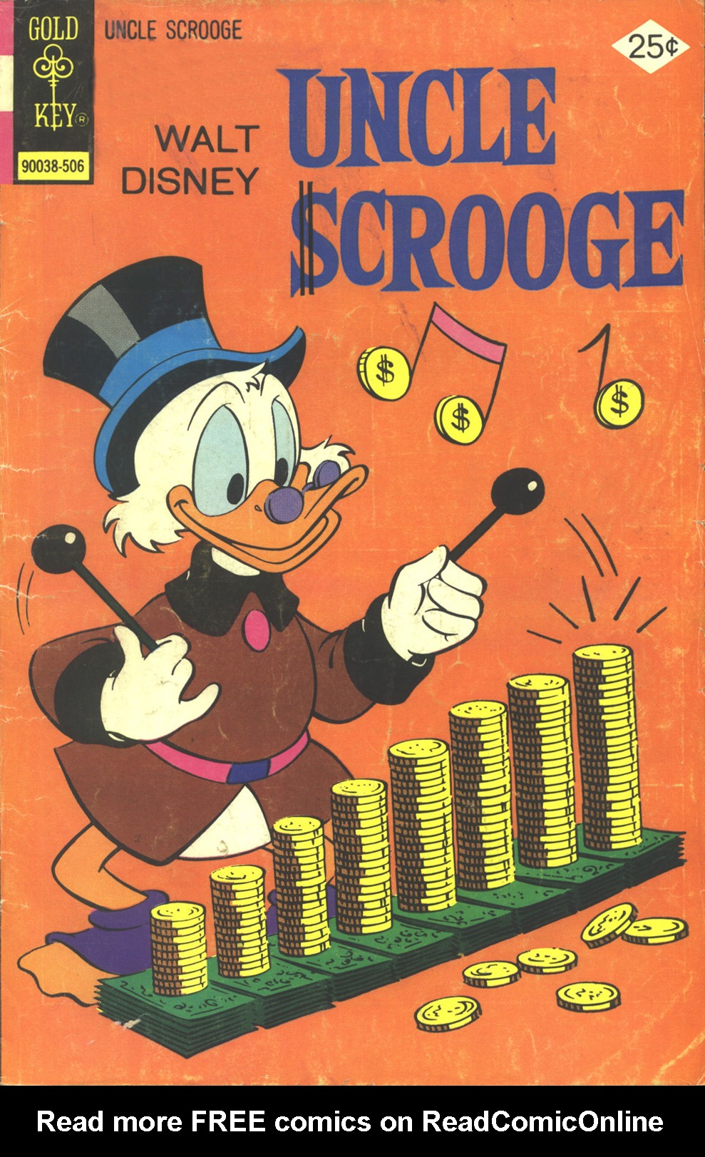 Read online Uncle Scrooge (1953) comic -  Issue #119 - 1
