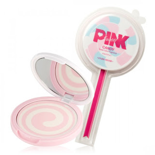 etude house pinky sweet cake review