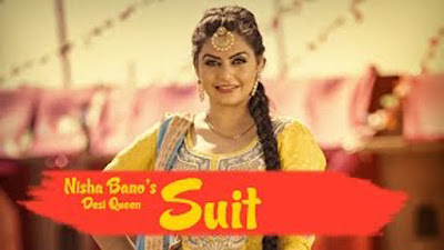 Suit Song Lyrics - Nisha Bano | KV Singh | Latest Punjabi Song 2017