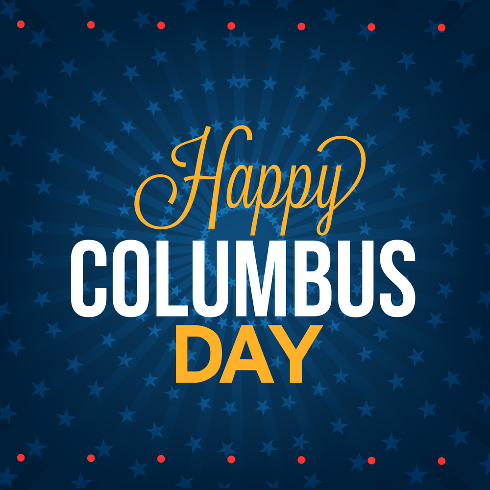 Happy Columbus Day 2017 Best gift ideas