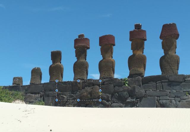 Ahu Nau Nau, Playa de Anakena, Isla de Pascua