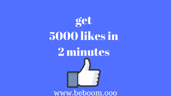 How To Get 5000 Facebook Page Likes Free
