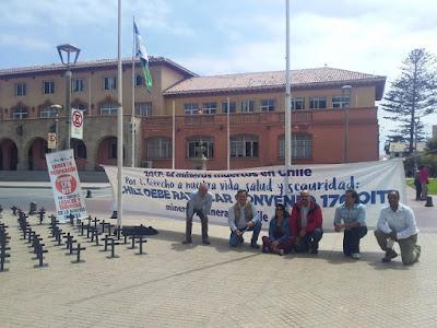 La Serena fue escenario de nueva intervención social en busca de la ratificación del Convenio 176 de la OIT