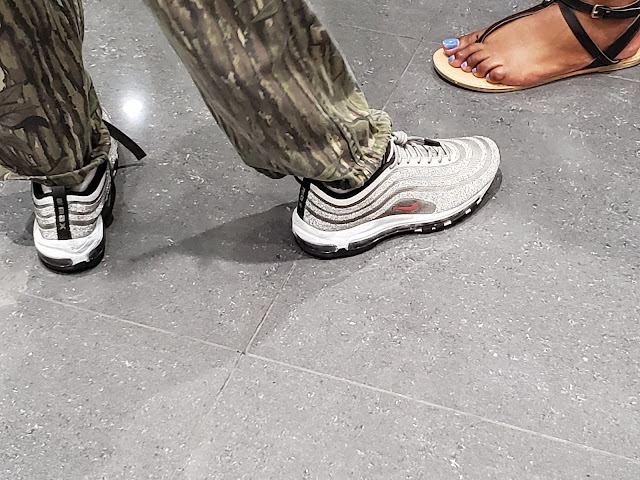 quite nice 4bc56 a6567 Sparkly Nike Air Max 97 at UP NYC
