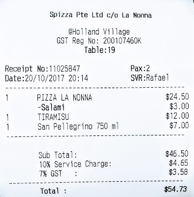 La Nonna, Holland Village, Singapore